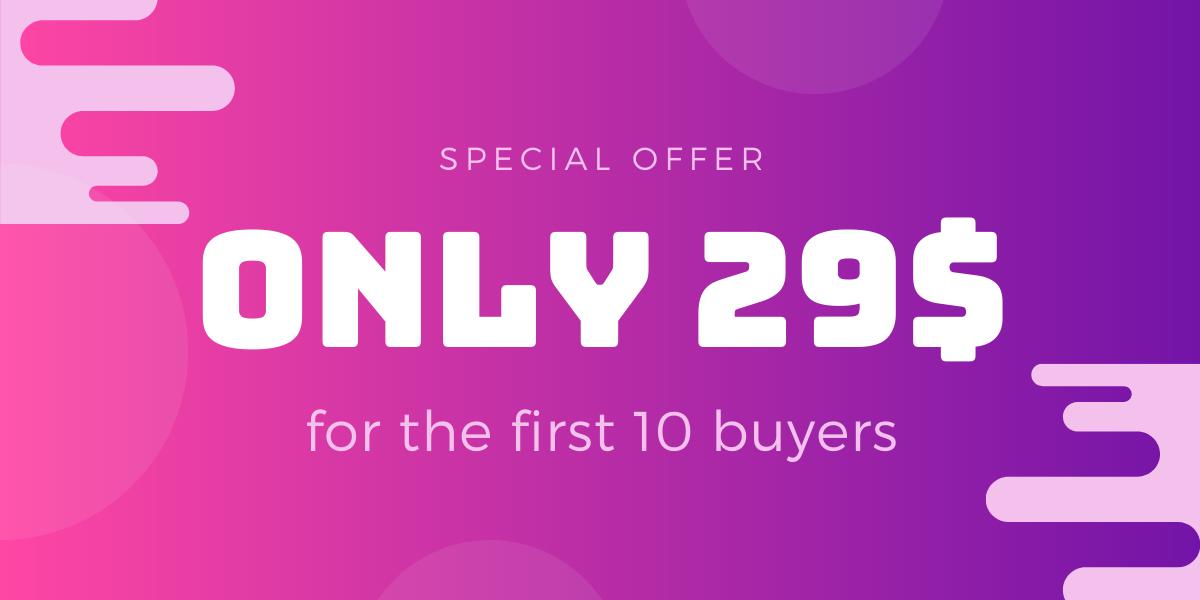Purple Simple UI Sale Facebook Post (1)